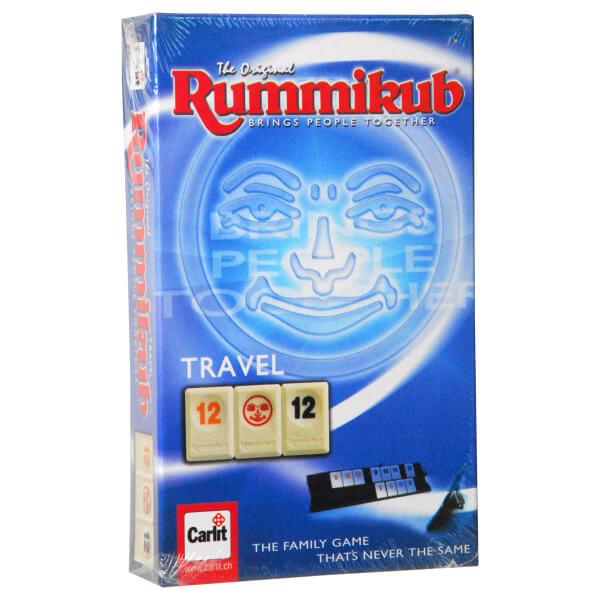 Schachtel Vorderseite- Rummikub Travel