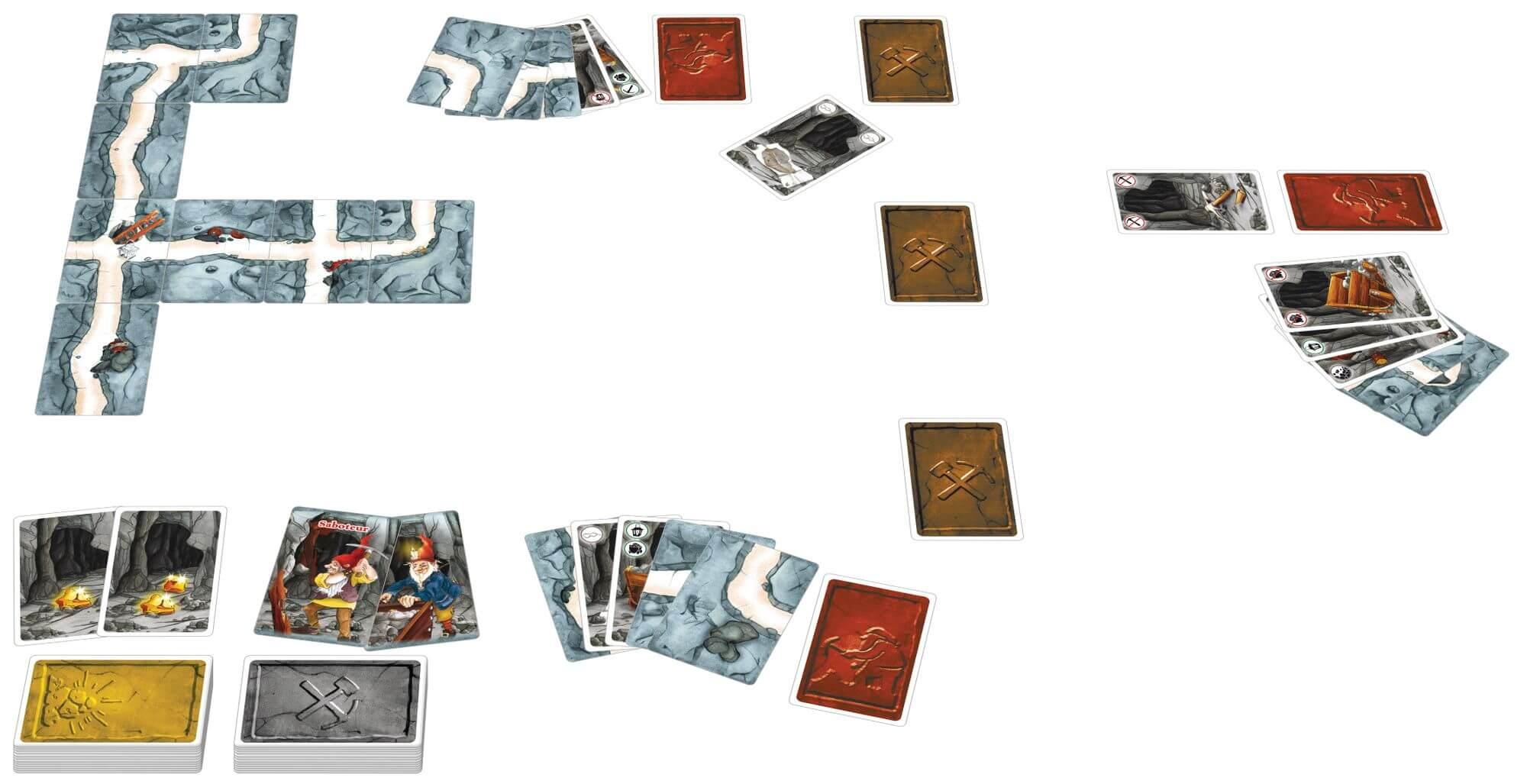 Spielkarten- Saboteur