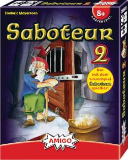 Schachtel Vorderseite, reche Seite- Saboteur 2