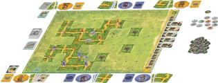 Spielmaterial- Saboteur - The Lost Mines