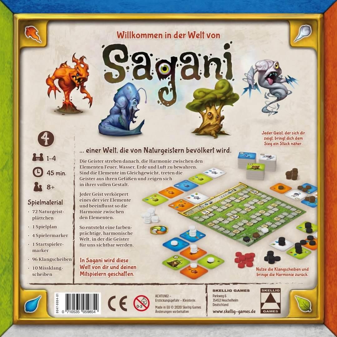 Schachtel Rückseite- Sagani