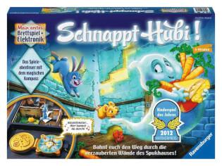 Schachtel Vorderseite - Kinderspiel des Jahres 2012- Schnappt Hubi!