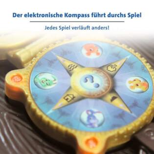 Elektronischer Kompass - Kinderspiel des Jahres 2012- Schnappt Hubi!