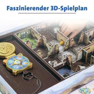 3D Spielplan - Kinderspiel des Jahres 2012- Schnappt Hubi!