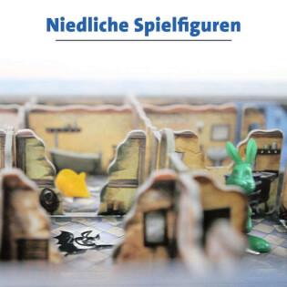 Spielfiguren - Kinderspiel des Jahres 2012- Schnappt Hubi!