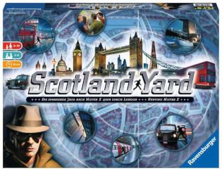Schachtel Vorderseite - Spiel des Jahres 1983- Scotland Yard