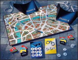 Spielmaterial- Scotland Yard Junior