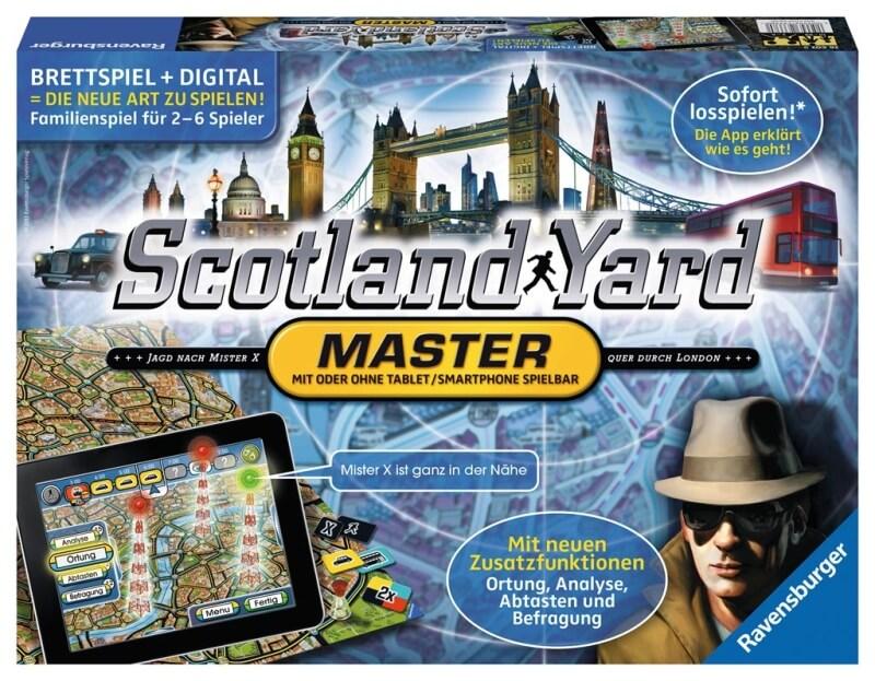 Schachtel Vorderseite- Scotland Yard Master