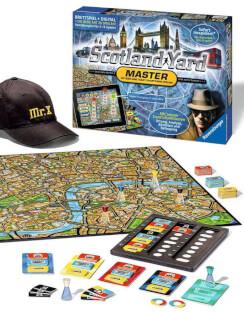 Spielmaterial- Scotland Yard Master