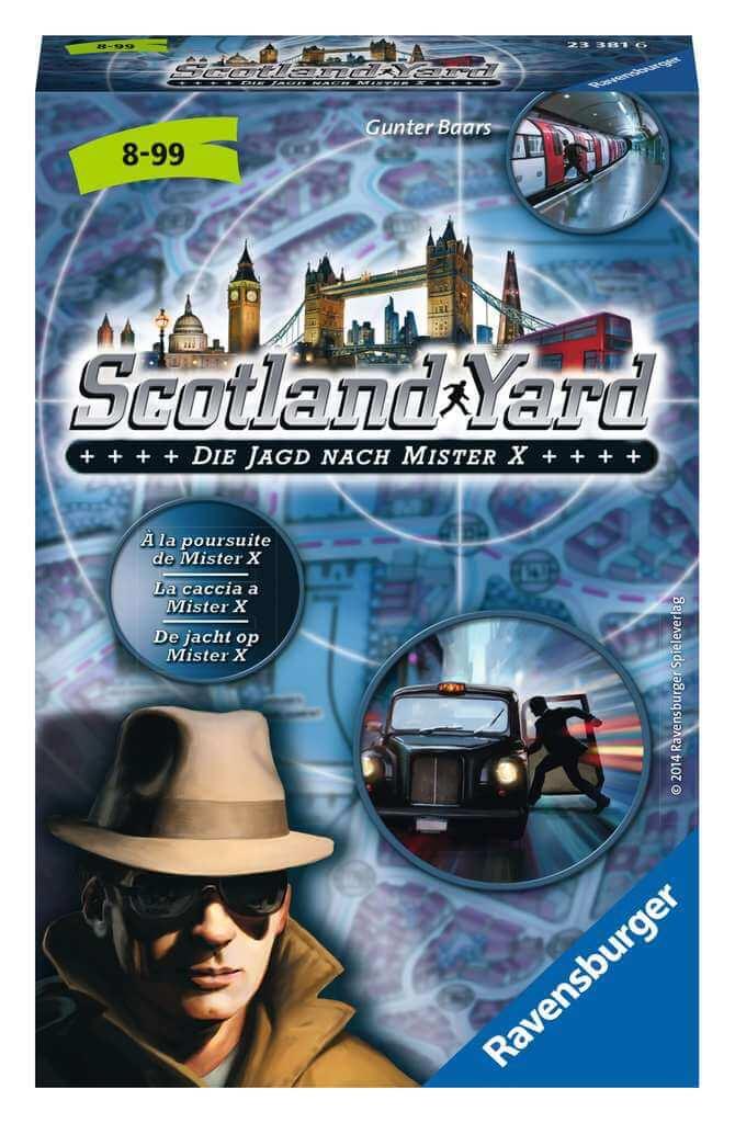 Schachtel Vorderseite- Scotland Yard - jeu à emporter