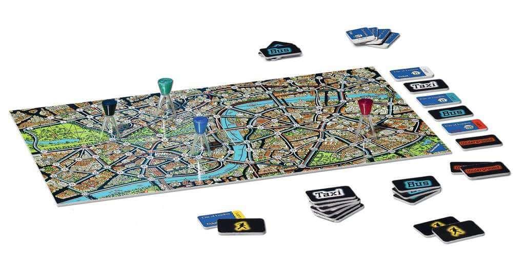 Spielmaterial- Scotland Yard - jeu à emporter