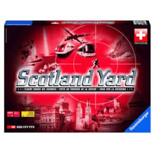 Schachtel Vorderseite - Schweizer Edition- Scotland Yard - Swiss Edition