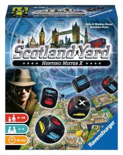 Schachtel Vorderseite- Scotland Yard - Le Jeu de Dés