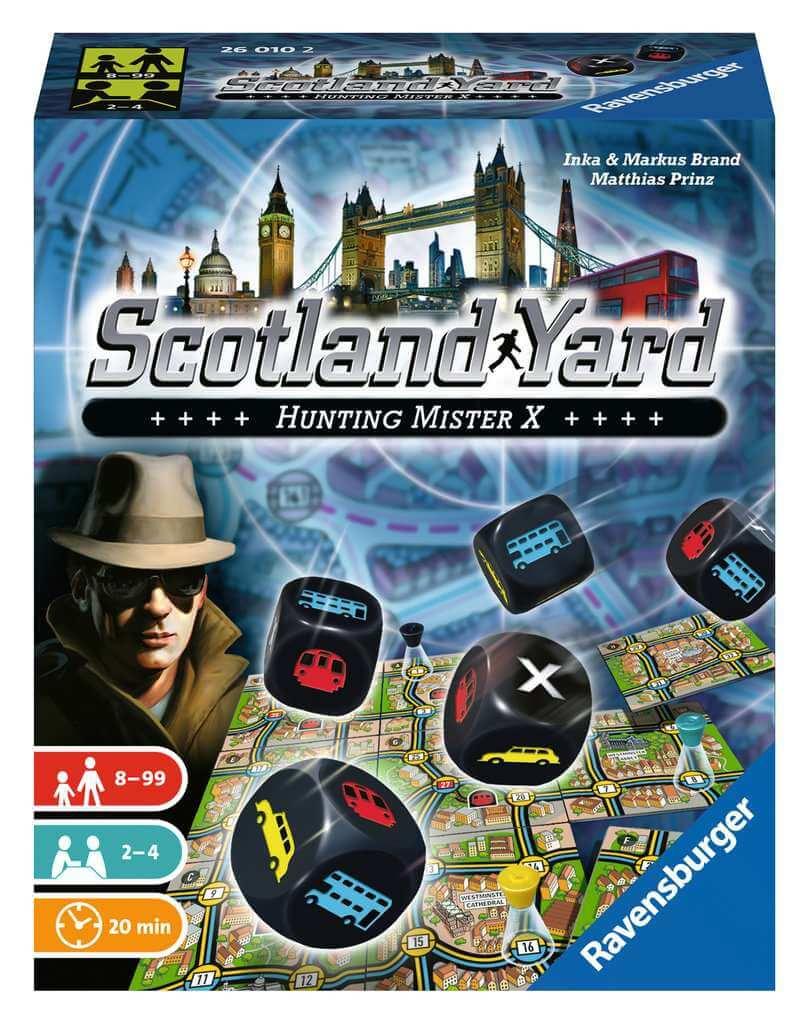 Schachtel Vorderseite- Scotland Yard - Dice Game