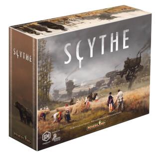 Schachtel Vorderseite links- Scythe