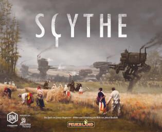 Schachtel Vorderseite- Scythe