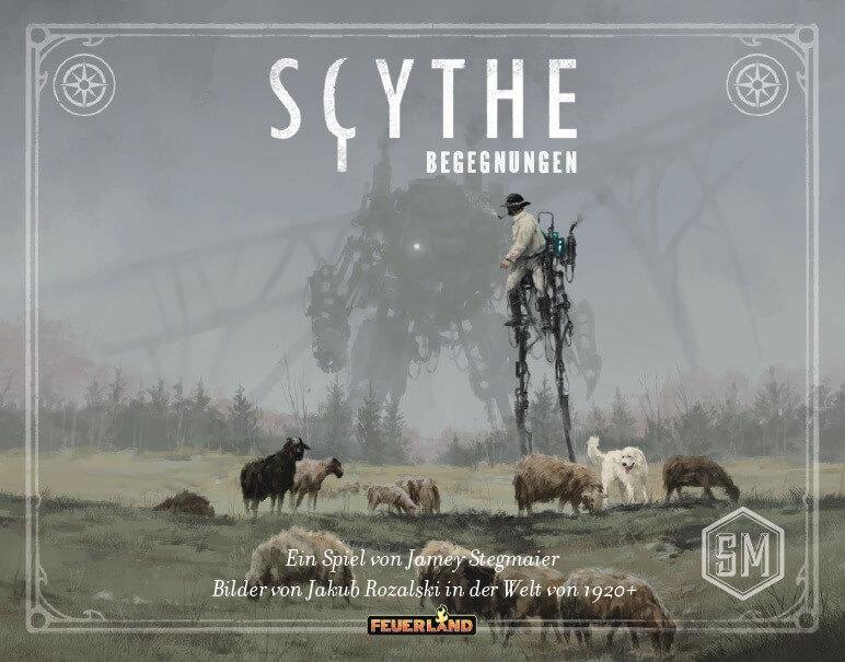 Schachtel Vorderseite- Scythe: Begegnungsbox