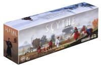 Schachtel Vorderseite, linke Seite - Scythe: Invasoren aus der Ferne