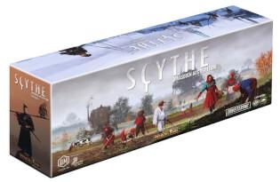 Schachtel Vorderseite, linke Seite- Scythe: Invasoren aus der Ferne