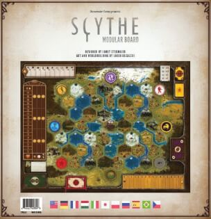 Schachtel Vorderseite- Scythe: Modular Board
