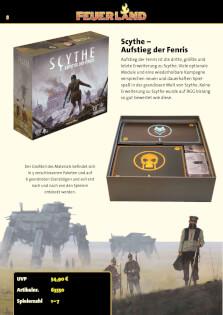 Schachtelinhalt- Scythe: Aufstieg der Fenris