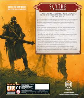 Schachtel Rückseite- Scythe: Aufstieg der Fenris