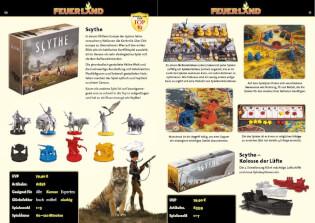 Spielmaterial- Scythe: Kolosse der Lüfte