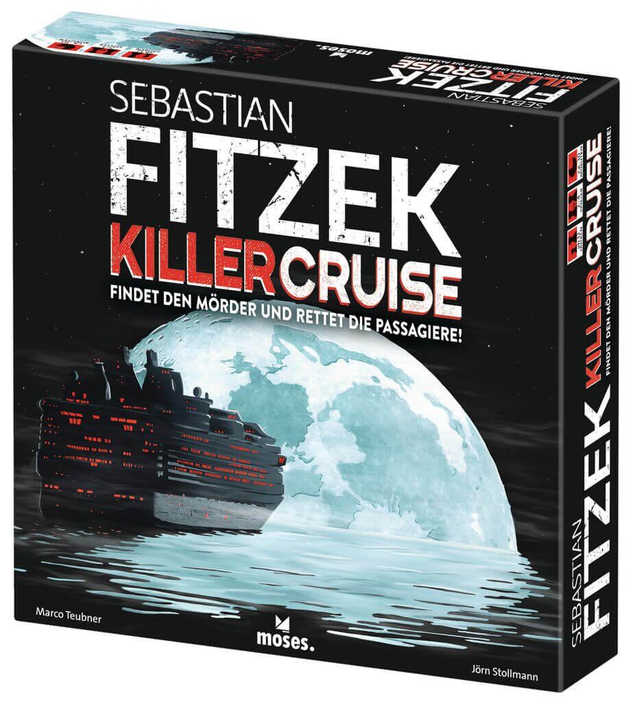 Schachtel Vorderseite- Sebastian Fitzek – Killercruise