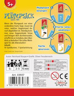 Schachtel Rückseite- Der Plumpsack geht um