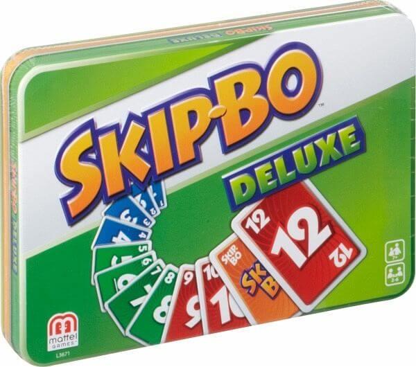 Grüne Box- Skip-Bo - Deluxe