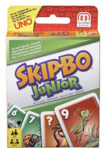 Schachtel Vorderseite- Skip-Bo Junior