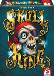 Schachtel Vorderseite - Lustiges Familienspiel mit Piraten- Skull King