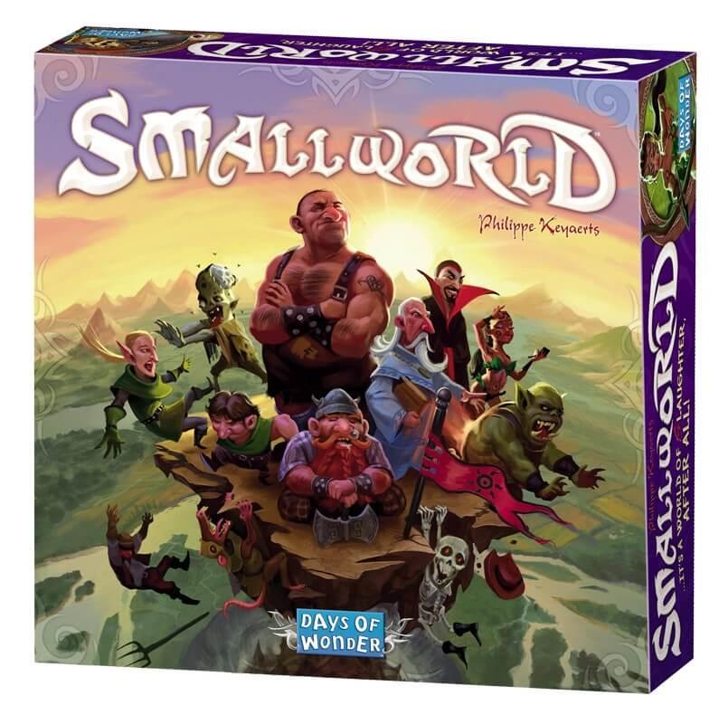 Schachtel Vorderseite - Super Einsteigerspiel - Small World