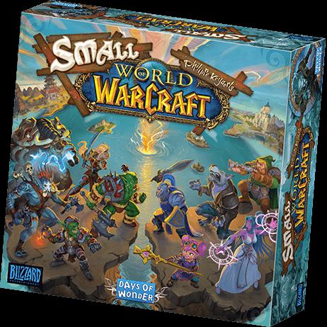 Schachtel Vorderseite- Small World of Warcraft