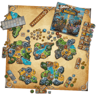 Spielbrett- Small World of Warcraft