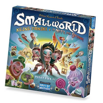 Schachtel Vorderseite- Small World - Power Pack 1