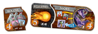 Spielmaterial - Rasse mit Eigenschaft- Small World - Power Pack 2