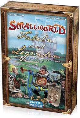 Schachtel Vorderseite- Small World - Fabeln und Legenden