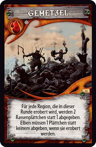 Spielkarte- Small World - Fabeln und Legenden