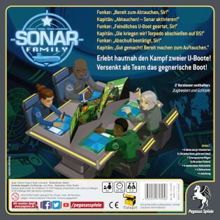 Schachtel Rückseite- Sonar Family