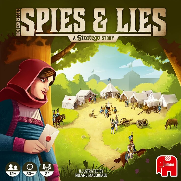 Cover- Spies & Lies - a Stratego Story