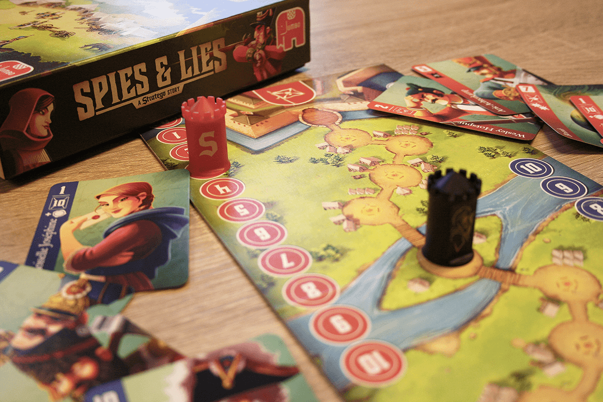 Spielmaterial- Spies & Lies - a Stratego Story