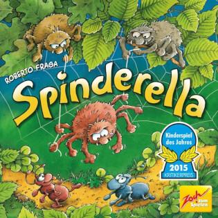 Cover  - Kinderspiel des Jahres 2015- Spindarella