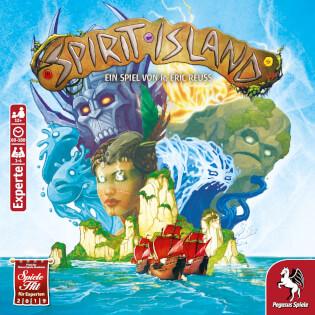 Schachtel Vorderseite- Spirit Island