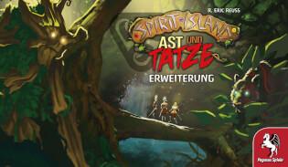 Cover- Spirit Island: Ast und Tatze