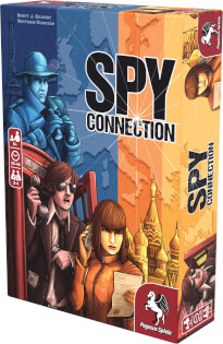 Schachtel Vorderseite- Spy Connection