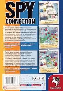 Schachtel Rückseite- Spy Connection