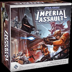 Schachtel Vorderseite- Star Wars: Imperial Assault