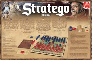Schachtel Rückseite- Stratego Original