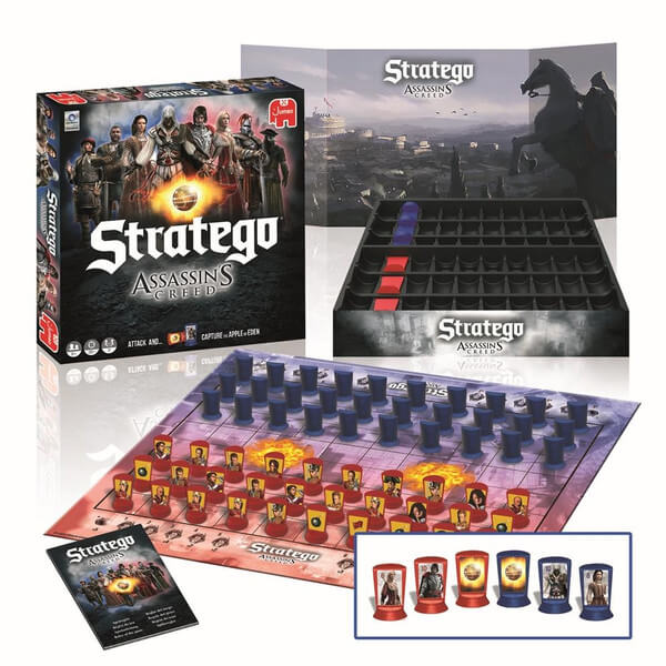 Spielmaterial- Stratego: Assassin's Creed